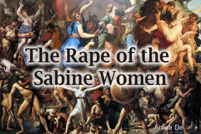 Rape Sabine Women Paintings