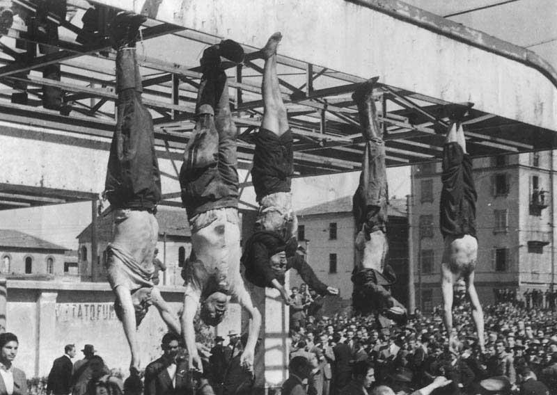 Mussolini and Clara
