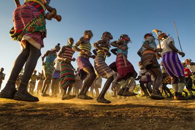 Hamer Bull Jumping Ethiopia