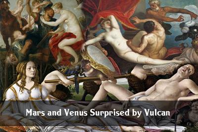Mars Venus surprised Vulcan