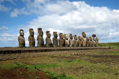 Moai Statues Chile Heritage