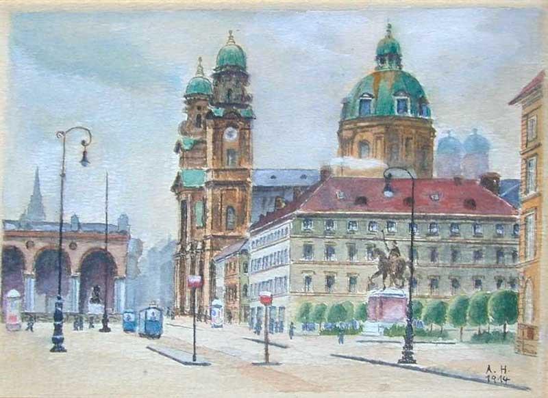 Ordensplatzcu, by Adolf Hitler