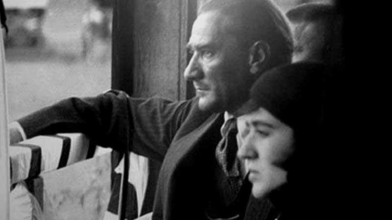 Ataturk with Fikreye