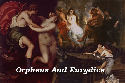 Orpheus Eurydice Paintings