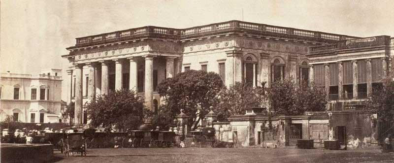 Town Hall, Calcutta 1857-61