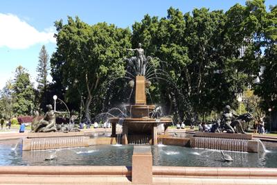 Archibald Fountain Sydney