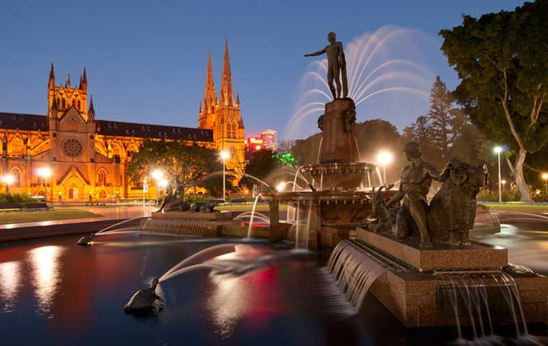 Archibald Fountain Sydney