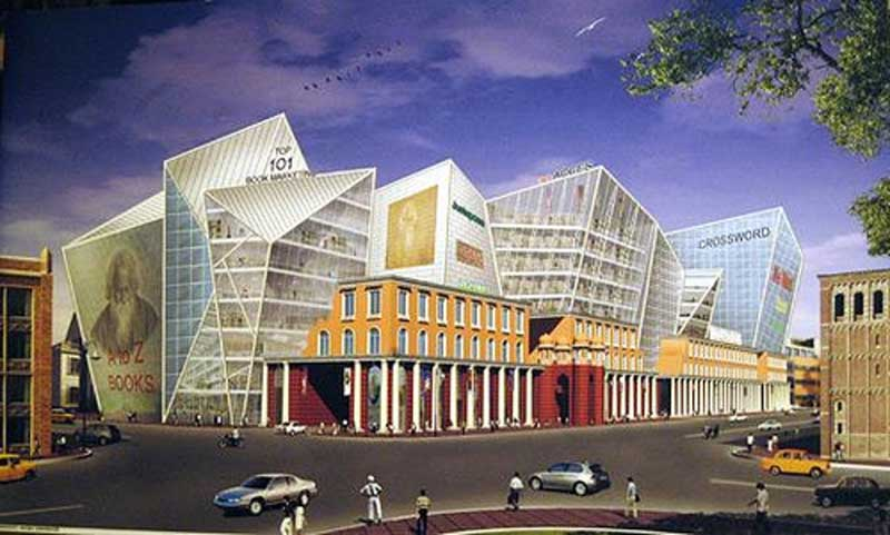 The proposed building of Varnaparichay