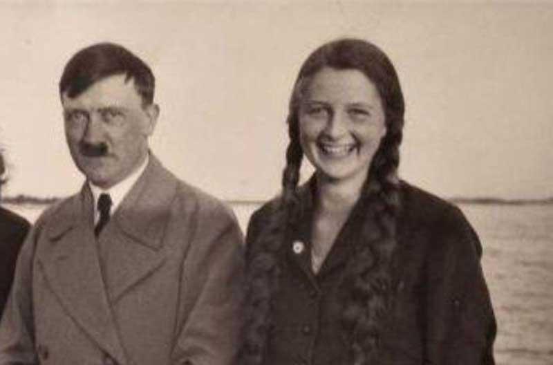 hitler and his young niece Geli Raubal