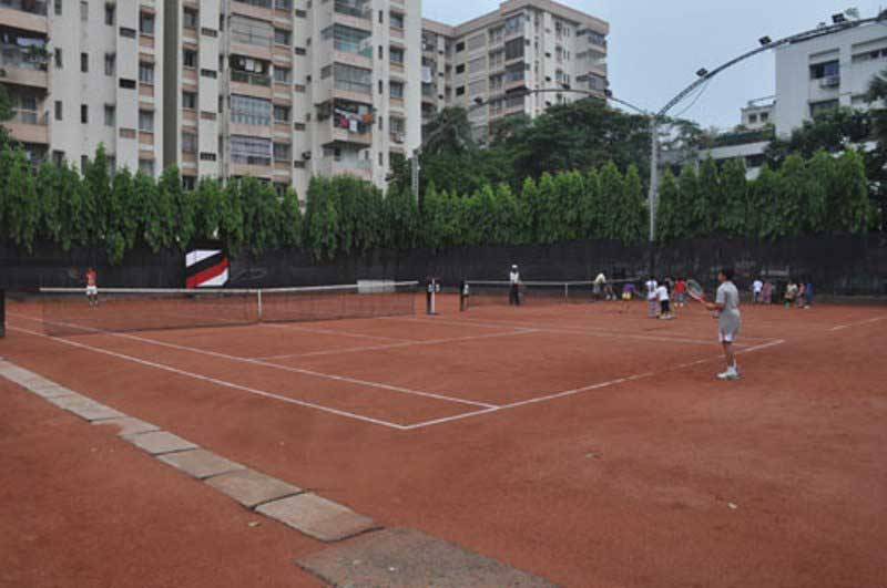 A Tennis Court