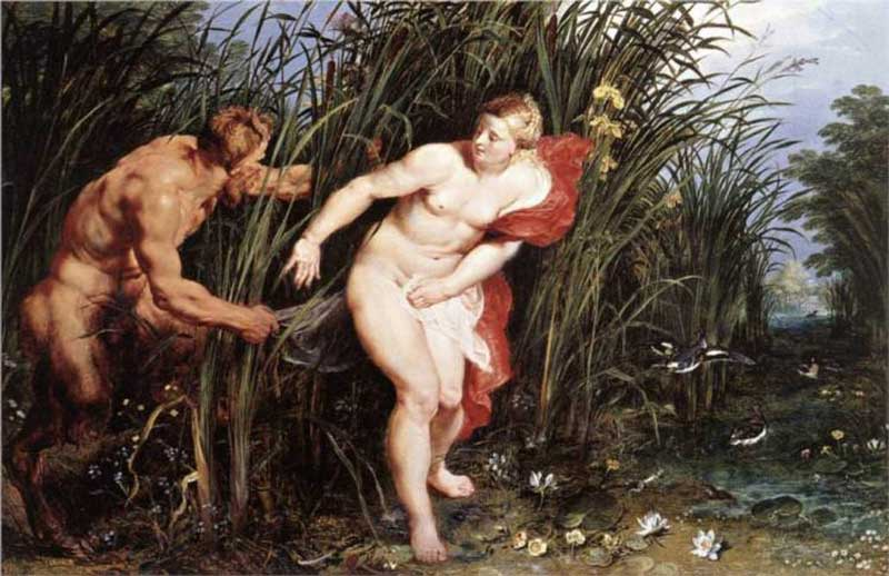 Pan and Syrinx, by Peter Paul