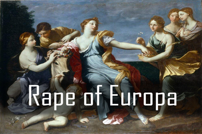Rape Europa Paintings