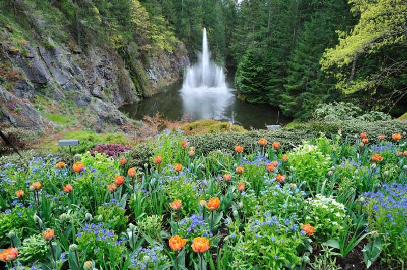 Ross Fountain Victoria Canada