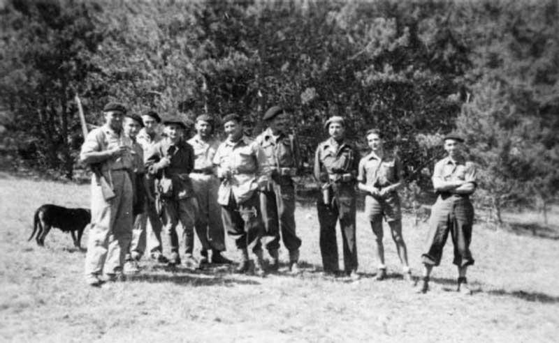 SOE officers in Haute-Savoie