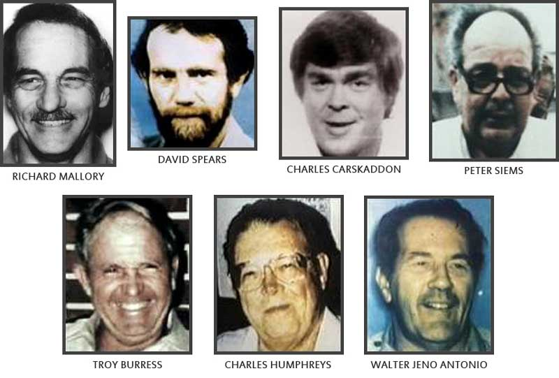 Victims of  Aileen Wuornos