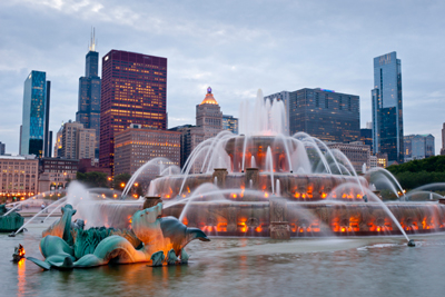 Buckingham Fountain Chicago Fountains