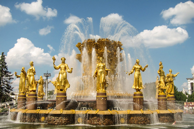 Peoples Friendship Fountain, Moscow