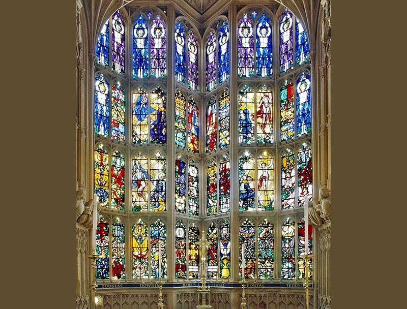 The RAF Chapel and Battle of Britain memorial window