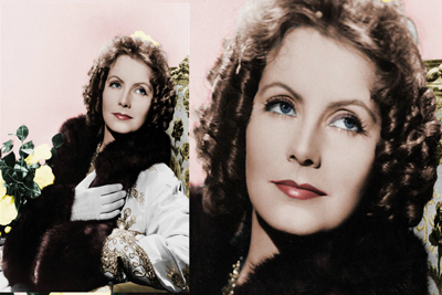 Greta Garbo Silver Screen
