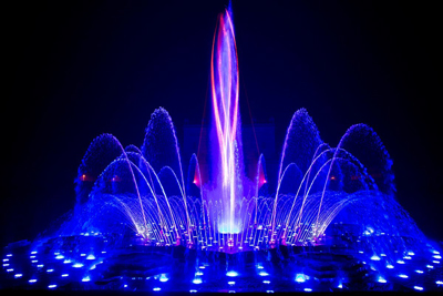 Magic Fountain of Montjuic, Barcelona, Spain - Fantastic Fountains