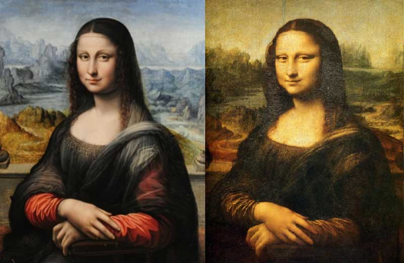 Monalisa with her twin