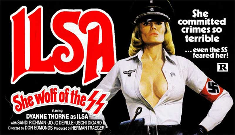 Movie poser based on Ilse Koch