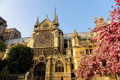 Notre Dame de Paris France Churches