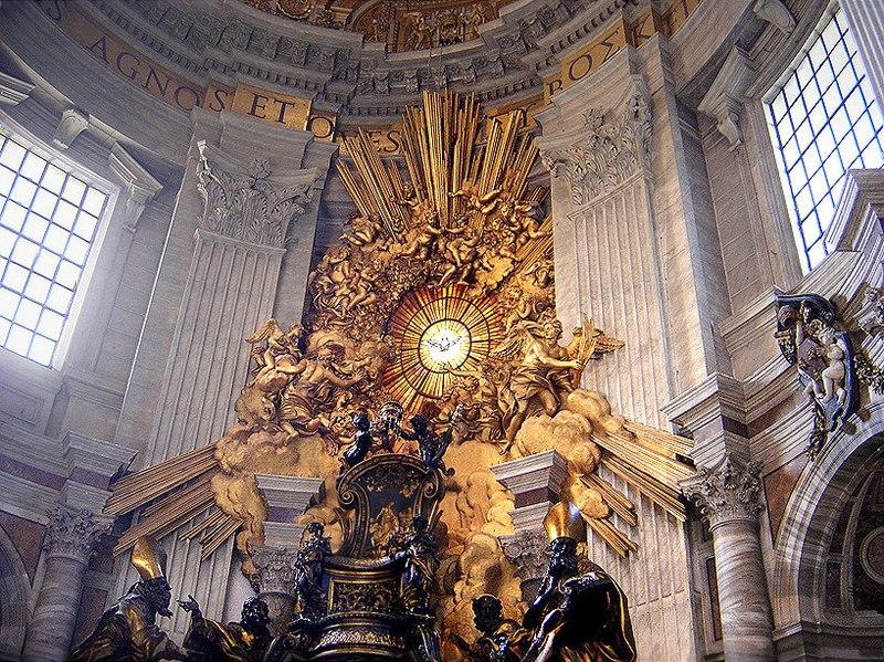 Bernini's Cathedra Petri and Gloria