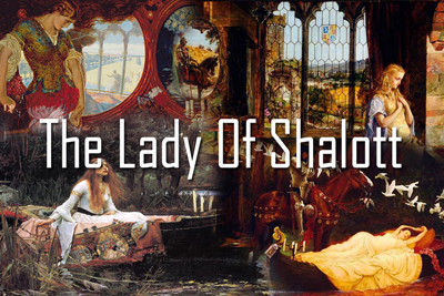 Lady Shalott Paintings