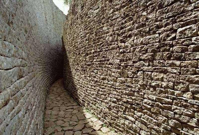The narrow passageway