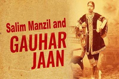 Salim Manzil Gauhar Jaan Calcutta