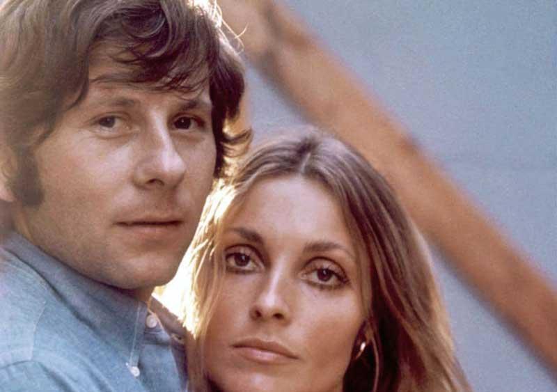 Sharon Tate, with Roman Polanski