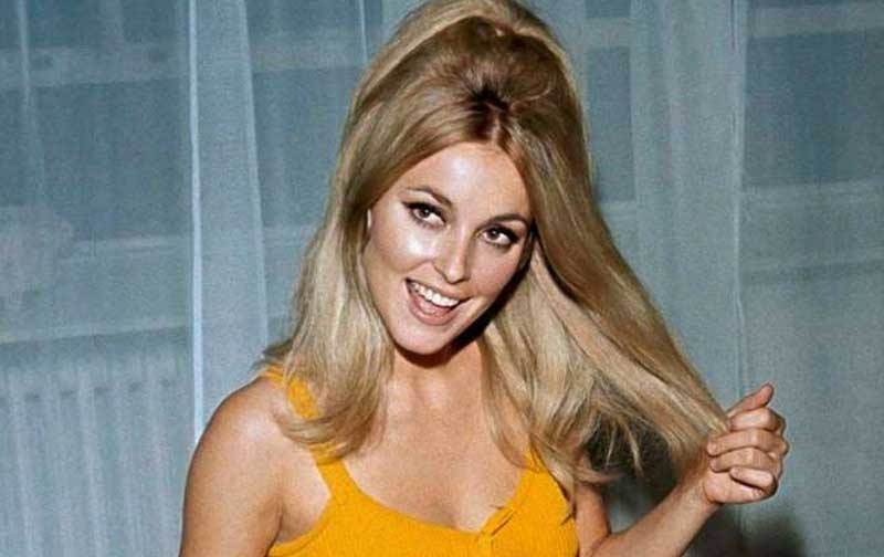 Sharon Tate takes a leap in the film Don't Make Waves