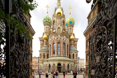 Church Savior Spilled Blood St Petersburg