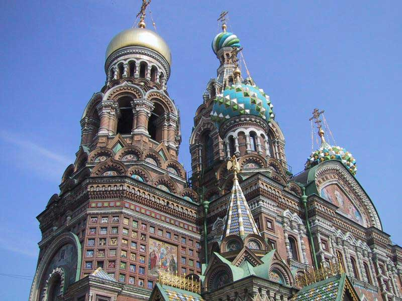 church of the savior on the spilled blood st petersburg