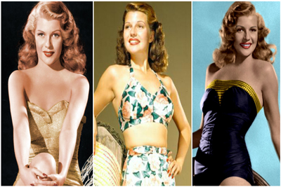 Rita Hayworth Goddesses Silver Screen