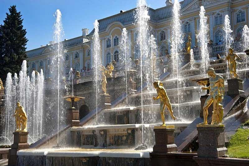 The Grand Cascade st Petersburg