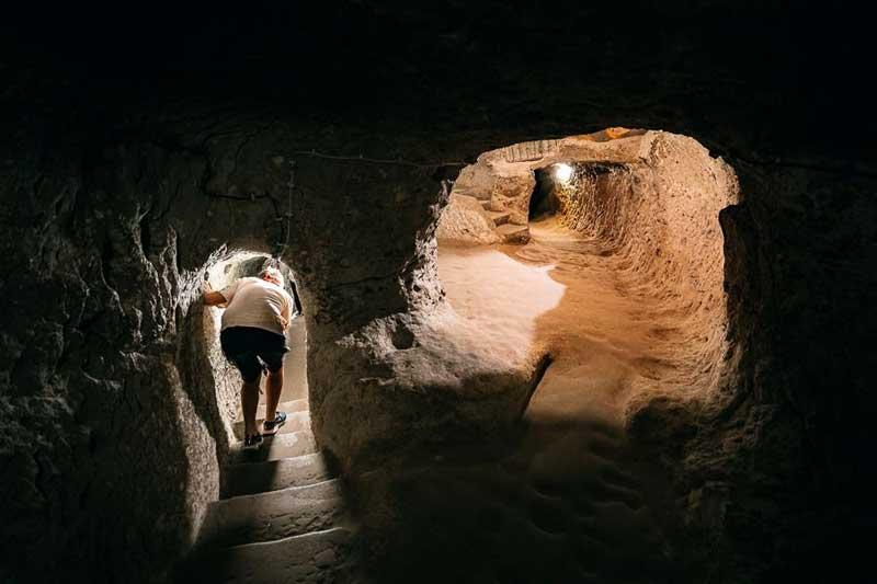 derinkuyu underground city turkey