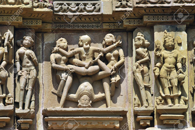 Erotic Sculptures Indian Temples