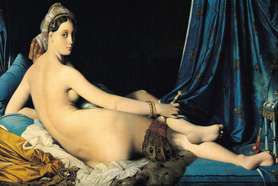 La Grande Odalisque Paintings