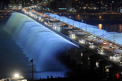 Moonlight Rainbow Fountain Seoul