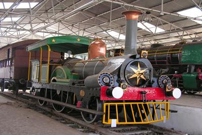 Rail Museum Calcutta