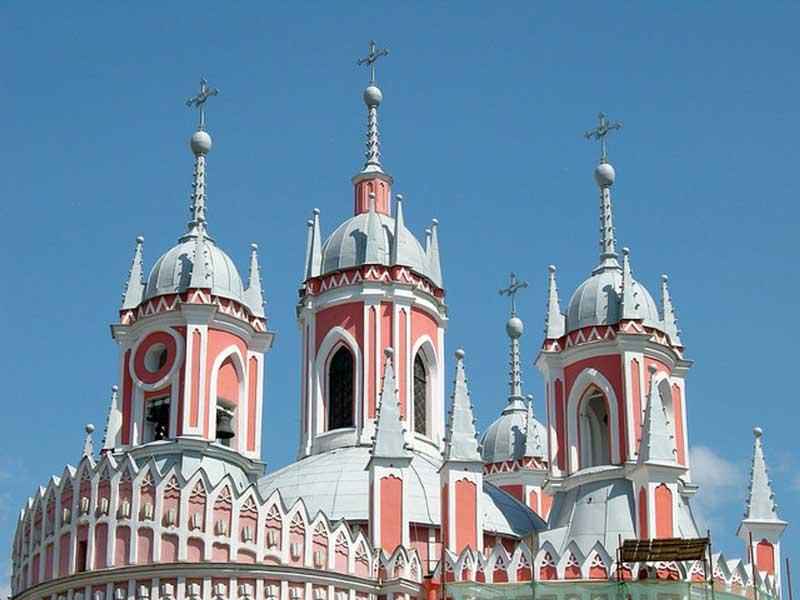 chesme church st petersburg russia