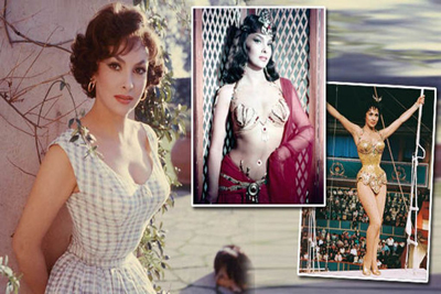 Gina Lollobrigida Goddesses Silver Screen