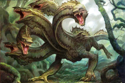 Hydra Mythical Monsters