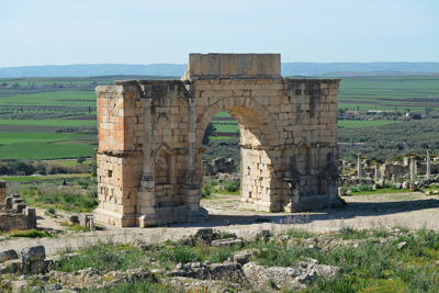 Arch of Caracalla, Volubilis, Morocco - Historical Gates