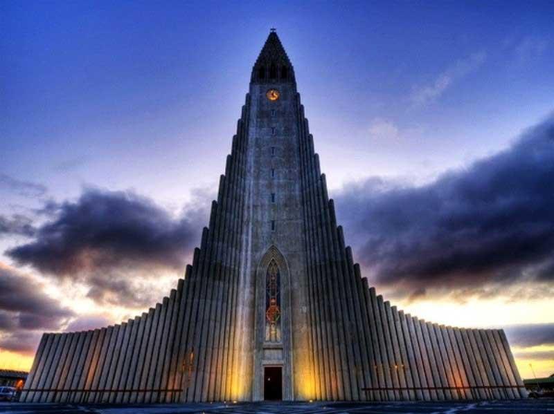church of hallgrimur reykjavik iceland