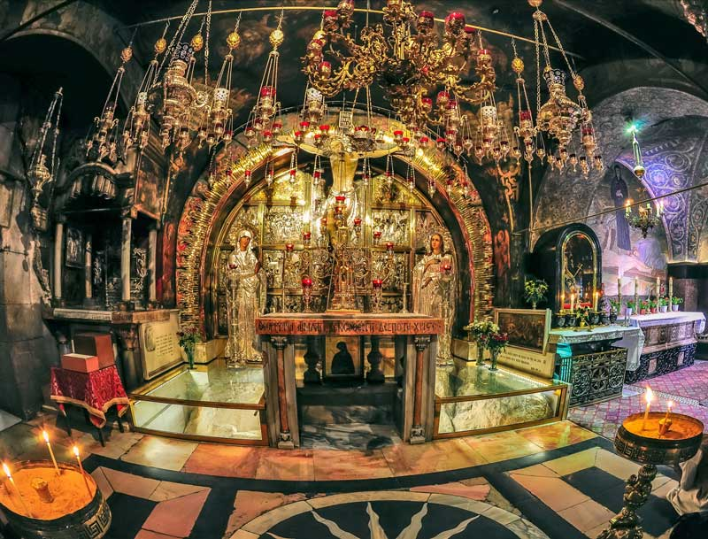 church of the holy sepulchre jerusalem