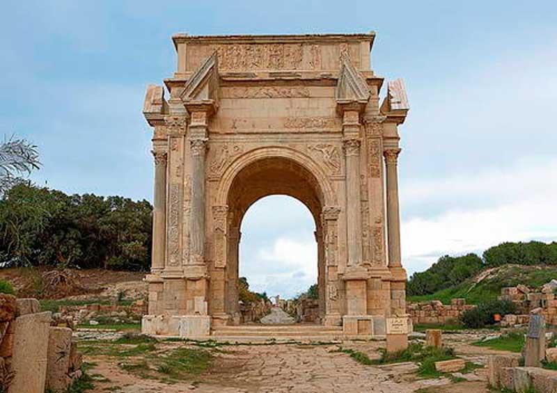 leptis magna libya