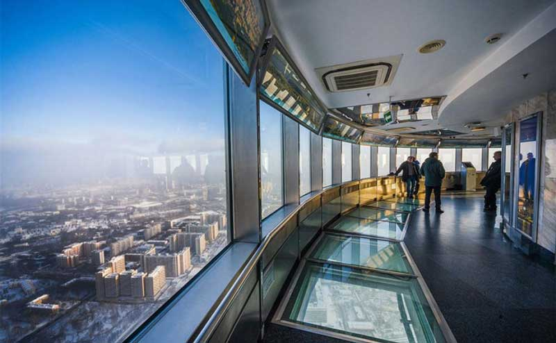 Ostankino Tower Moscow Russia
